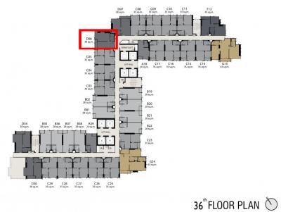 Sale Life ๑ wireless (corner room) excellent choice for investment ห้องหายาก ตำแหน่งดีมาก ห้องหัวมุม ชั้น 16 38 ตรม D06 วิวคลอง เจ้าของขายเอง