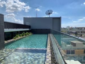 For RentCondoVipawadee, Don Mueang, Lak Si : Modish Interchange Condo - Lak Si Circle 👉 for rent, new room, 7th floor, price 8,500 / month, 1 year contract