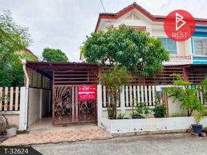 For SaleHouseRathburana, Suksawat : Twin house for sale, Sinthavee Greenville Village 2, Pracha Uthit 90, Samut Prakan.