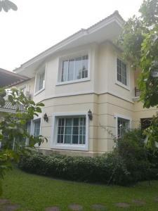 For RentHousePinklao, Charansanitwong : RHT496 2 storey detached house for rent, Heritage Ratchaphruek Village.