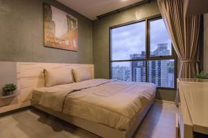 เช่าคอนโดอ่อนนุช อุดมสุข : ให้เช่า 1 ห้องนอน แต่งสวยมาก เครื่องใช้ไฟฟ้าครบ Life Sukhumvit 48 ใกล้ BTS พระโขนง ชั้นสูง วิวสวยมาก นัดชมห้อง โทร.062-339-3663