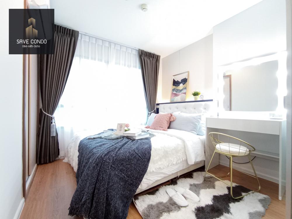 For SaleCondoBangna, Lasalle, Bearing : Lumpini Mega City, new room, full, beautiful, rare location, cheap feng shui