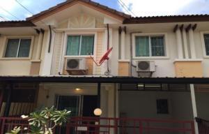 For RentHouseRamkhamhaeng,Min Buri, Romklao : Townhouse for rent Pruksa Ville Village 5, Pracha Ruam Jai Road Minburi - Nimitmai, 2 floors, 3 bedrooms, 2 bathrooms Property Code:GR-0105