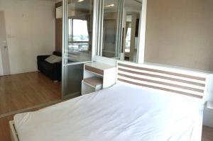 For RentCondoBangna, Lasalle, Bearing : For rent, corner room, Lumpini Condo, Mega City, Bangna, 26.5 sqm., 1 bedroom, 12th floor, ready to move in