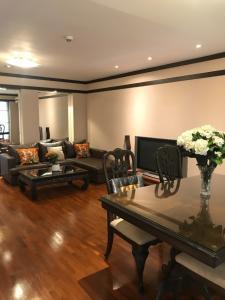 For RentCondoSukhumvit, Asoke, Thonglor : Condo for rent, Icon 3 Condominium, 114 sq m, 2 bedrooms, 45000 baht.