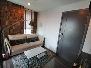 For RentCondoOnnut, Udomsuk : For rent, The Base Park West, Sukhumvit 77, corner room, 1 bedroom, 30 sqm., 39th floor, beautifully decorated, fully furnished.