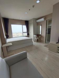 For RentCondoBang Sue, Wong Sawang : For rent, Aspire Wong Sawang Studio 22 sqm., cheapest price, beautiful room, fully furnished, has a washing machine
