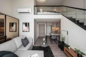 For RentCondoSapankwai,Jatujak : 🏙For rent The Reserve Phahol - Pradipat, Loft room, wide front