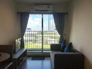 For RentCondoSamrong, Samut Prakan : Condo for rent The Trust BTS Erawan  fully furnished (Confirm again when visit).
