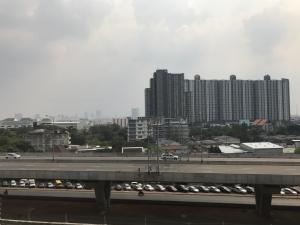 For SaleCondoBang Sue, Wong Sawang : Condo for sale Metrosky Prachachuen, beautiful position, good view