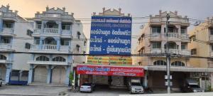 For SaleShophouseNakhon Pathom, Phutthamonthon, Salaya : Quick sale, 3-storey commercial building and a half, next to Phutthamonthon Sai 2 Road, price 14.99 million baht.