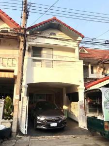 For SaleTownhouseRamkhamhaeng,Min Buri, Romklao : Townhouse Poonsin Thani 1, Romklao Housing, Lat Krabang.