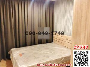 For RentCondoChengwatana, Muangthong : Condo for rent, THE BASE Chaengwattana, THE BASE CHAENGWATTANA, high floor, beautiful view, corner room, ready to move in
