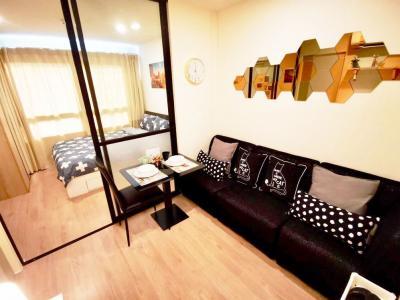 For RentCondoLadkrabang, Suwannaphum Airport : iCondo Green Space Sukhumvit 77(1) corner unit with fully furnished (near Robinson Ladkrabang, The Paseo Mall, Makro Lardkrabang)