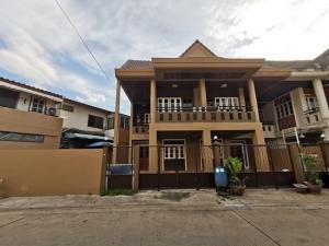 For RentTownhouseNawamin, Ramindra : RTJ754 Townhomes for rent, 2 floors, Bodinthonraksa Village 4, Ramintra, Soi Khubon 27.