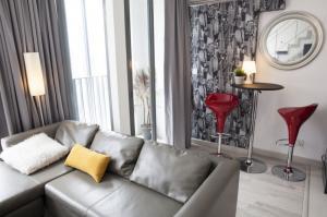 For SaleCondoOnnut, Udomsuk : Sell/Rent Ideo Mobi Sukhumvit Duplex 44 sqm. 1 bed, BTS On Nut.