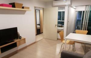 For RentCondoSamrong, Samut Prakan : Condo for rent, The Kith Plus, Sukhumvit 113, fully furnished, 400 meters from BTS Samrong