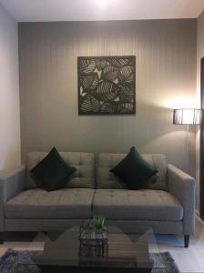 For RentCondoOnnut, Udomsuk : Urgent!! For rent Life Sukumvit 48 with furniture. Condo near BTS, beautiful view, special price >>12,000<< baht