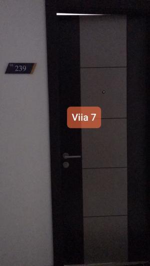 For SaleCondoBangna, Lasalle, Bearing : Selling a furnished room Wallpaper in the whole room # viia 7 Bang Sao Thong