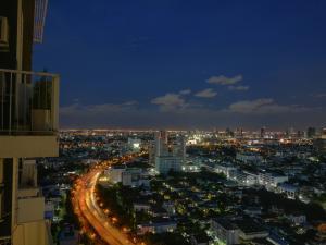 For RentCondoBang Sue, Wong Sawang : ให้เช่า Parkland วงศ์สว่าง ชั้น 33 วิวเมือง