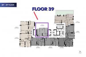 ขายดาวน์คอนโดสาทร นราธิวาส : RTCRK : ชั้นพิเศษ มี 8 ห้องต่อชั้น คว้าราคาดีก่อนโอน ดูแลตรงจากโครงการ สอบถามข้อมูล 0655203789