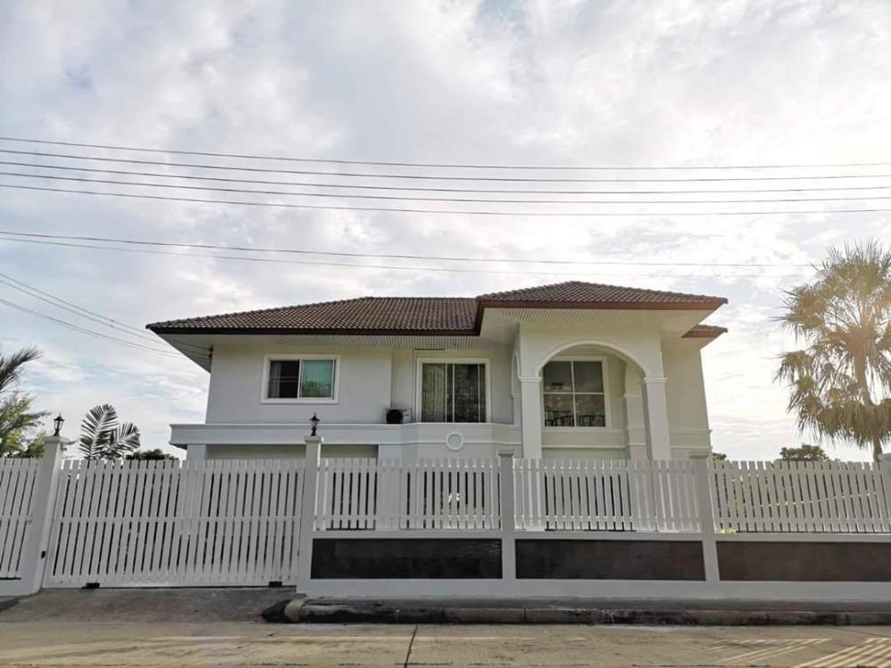 ขายบ้านรังสิต ธรรมศาสตร์ ปทุม : ขายบ้านเดี่ยว หมู่บ้านลากูน 2 ปทุมธานี ใกล้โรงพยาบาลสามโคก ขนาด 205 ตร. ว. 3 ห้องนอน 3 ห้องน้ำ บ้านสวย พร้อมอยู่
