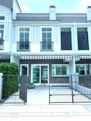 For RentHouseBangna, Lasalle, Bearing : 🎉 Townhome for rent, 2 floors, 3 bedrooms, 3 bathrooms, Indy 4, Bangna Km. 7, fully furnished. electrical appliances Beautifully decorated and ready to move in.
