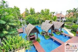 For SaleHouseLadkrabang, Suwannaphum Airport : Big house for sale, resort style, near Suvarnabhumi Airport. Selling below appraised value!!!!