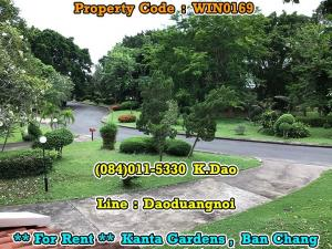For RentHouseRayong : Kanta Gardens, Ban Chang For Rent Big and small houses in the same area