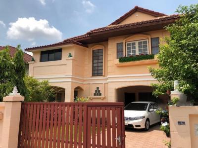 For RentHouseChengwatana, Muangthong : HR789 House for rent, 2 floors, area 80 sq m. Sarawan Ville Village. near Central Chaengwattana
