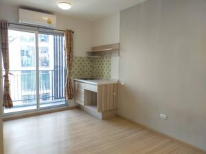 For RentCondoChengwatana, Muangthong : Rent an empty room, size 26 sqm. at Plum Condo Chaengwattana, Phase 2, price only 6500.-/m.