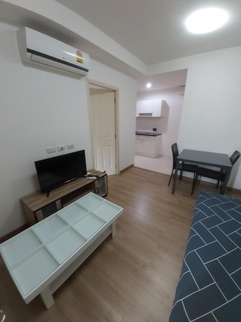 For RentCondoKasetsart, Ratchayothin : Room for rent 🔥 New The Ville @Kasetsart 🔥 Opposite Kasetsart University (walk away) ⭐ Golden location for rent, 1 bedroom big room