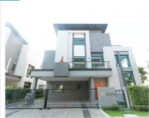 For SaleHouseOnnut, Udomsuk : LBH0157 Single house sale, The Gentry Sukhumvit 101, modern luxury house.