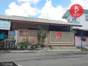 For SaleShophouseLadkrabang, Suwannaphum Airport : Sell detached house, Romklao 15 housing estate, Lat Krabang, Bangkok.