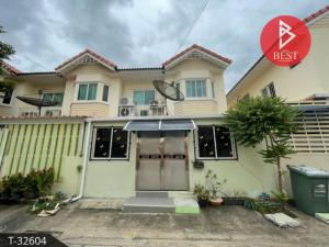 For SaleTownhouseRama 2, Bang Khun Thian : Selling cheap, 2-storey townhouse, Phisan Village, Thian Talay 20, beautifully decorated, ready to move in.