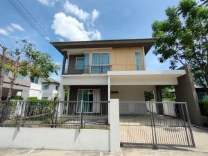 For SaleHouseBangbuathong, Sainoi : Single house, Prueklada, Bang Yai 2, fully furnished, new house
