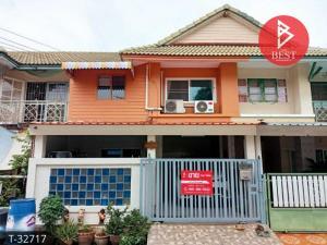 For SaleTownhouseSamrong, Samut Prakan : Townhouse for sale, Pruksa 15, Bang Phli-Tamru, Phraeksa, Samut Prakan.
