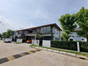 For RentHousePattanakan, Srinakarin : Urgent!! Beautiful house for rent #Get a pet Burasiri Village, Phatthanakan, luxury decoration, ready to move in