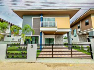 For SaleHouseChiang Mai : C3MG100170 New Two-storey house for sale with a good vibes, 60 sq.wa.