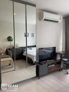 For RentCondoSukhumvit, Asoke, Thonglor : (S)RT002_N🌟😍RYTHUM SUKHUMVIT 36-38 beautiful room, fully furnished, ready to move in 🌟😍