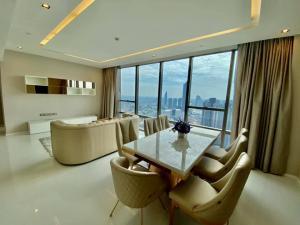 For RentCondoSathorn, Narathiwat : Rare item , For rent 2bedrooms 119 sq.m. at The Bangkok Sathorn.[ Fully Furnished ]