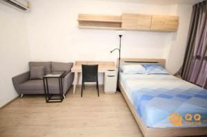For RentCondoRatchathewi,Phayathai : For Rent Ideo Q Siam-Ratchathewi  Studio, size 24 sq.m., Beautiful room, fully furnished.