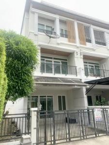 ขายทาวน์เฮ้าส์/ทาวน์โฮมลาดกระบัง สุวรรณภูมิ : ขายทาวน์โฮมสวยแปลงมุม บ้านกลางเมือง เออร์บาเนี่ยน ศรีนครินทร์ (Baan Klang Muang Urbanion Srinakarin Suvarnabhumi) ขนาด 28 ตร.ว.