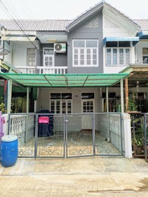 For SaleTownhouseRangsit, Patumtani : Townhouse for sale, Yu Charoen Village 4, Lam Luk Ka Klong 4, price lower than the market.