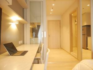 For RentCondoWitthayu,Ploenchit  ,Langsuan : 2299-A😊 For RENT Studio room for rent🚄near BTS Ploenchit🏢Life One Wireless Life One Wireless🔔Area:25.00 sq.m.💲Rent:17,000฿📞O86-454O477,O99-5919653✅LineID:@sureresidence