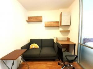 For RentCondoLadkrabang, Suwannaphum Airport : Room for rent, 1 bedroom, beautiful room, ready to move in, Lumpini Ville Condo On Nut - Lat Krabang 2