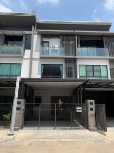 For SaleTownhouseNawamin, Ramindra : BS225 Townhome for sale, 3 bedrooms, 4 bathrooms, The Landmark Ekamai Village, Ramintra, Soi Sukonthasawat 25, very new, beautiful decoration, ready to move in, Lat Phrao District.