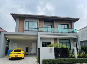 ขายบ้านพัฒนาการ ศรีนครินทร์ : ขายบ้านเดี่ยว สภาพดีแต่งหรู  พร้อมอยู่  ทำเลกรุงเทพกรีฑา  4นอน3น้ำ อายุบ้านไม่ถึงปี