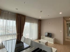 For RentCondoThaphra, Wutthakat : Condo near 2 BTS lines, The Parkland Petchkasem-Thapra, 2 bedrooms for rent.