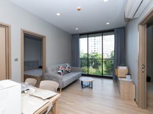 For RentCondoOnnut, Udomsuk : for rent Kawa Haus 2 bed 1 bath nice view
